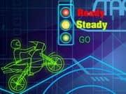 Juego Neon World Biker