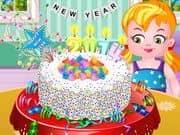 Juego New Year Confetti Cake