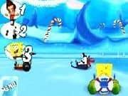 Juego Nicktoons 3D Carrera en la Nieve