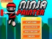 Juego Ninja Painter