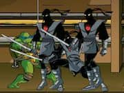 Juego Ninja Turtles Foot Clan Ctreet