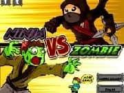 Juego Ninja vs Zombie