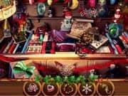 Juego Objetos Ocultos en la Feria de Navidad