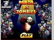 Juego Panda vs Zombies