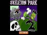 Juego Parque de Esqueletos