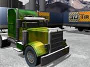 Juego Parqueo Camion de Remolque en 3D