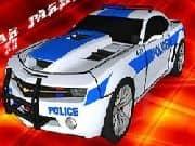 Juego Parqueo Coche Policia