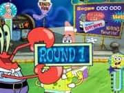 Juego Patrick vs Bob Esponja