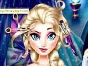 Juego Peinar a Princesa Elsa