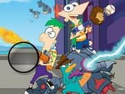 Juego Phineas And Ferb Hidden Letters