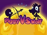 Juego Piggy vs Wolf