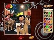 Juego Pinta a Dora y Diego