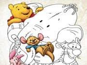 Juego Pintar y Colorear a Winnie Pooh