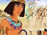 Juego Piramide Antigua de Cartas