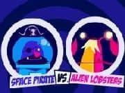 Juego Piratas Espaciales vs Langostas Aliens