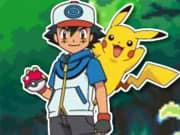 Juego Pokemon Recolecion de Pelotas