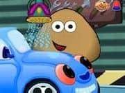 Juego Pou Car Wash
