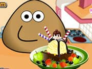 Juego Pou Ice Cream Decoration