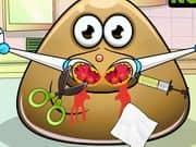 Juego Pou Nose Doctor
