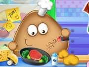 Juego Pou Real Cooking