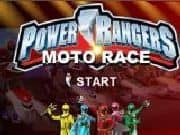 Juego Power Rangers Carrera de Motos