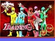 Juego Power Rangers Entrenamiento de Combate