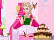 Juego Princesa Elsa Frozen Limpieza de Cumpleaños