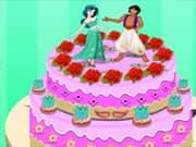 Juego Princesa Jasmin Cake de Cumpleaños