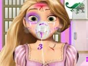 Juego Princesa Rapunzel Lesiones en la Cabeza