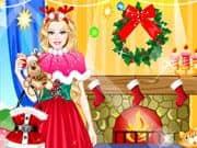 Juego Princesa Santa Claus