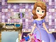 Juego Princesa Sofia Lavando sus Vestidos