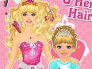 Juego Princess And Baby Hairstyle