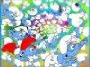 Juego Puzzle 100 Pitufos