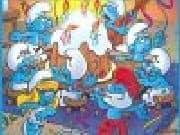 Juego Puzzle Fiesta de los Pitufos