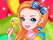 Juego Rainbow Girl with Lollipop