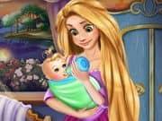 Juego Rapunzel Baby Feeding