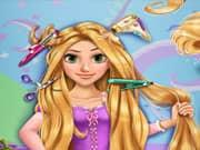 Juego Rapunzel Corte de Cabellos Real