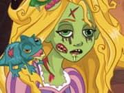Juego Rapunzel Hechizo de Zombi