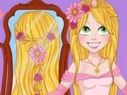 Juego Rapunzel Wedding Braids