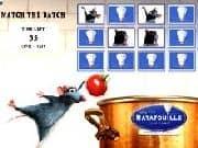 Juego Ratatouille Memorama Match