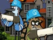 Juego Regular Show Military Zone