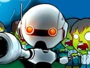 Juego Robot vs Zombies