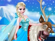 Juego Rudolph And Elsa In The Frozen Forest