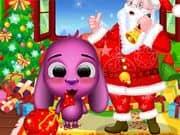 Juego Santa Visita a Toto