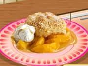 Juego Saras Cooking Class Peach Cobbler