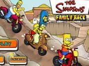 Juego Simpsons Family Race