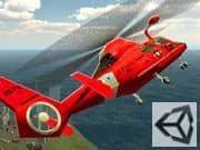 Juego Simulador de Ambulancia Aerea 3D