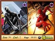 Juego Spiderman 5 igualdades - Spiderman 5 igualdades online gratis, jugar Gratis