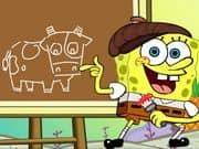 Juego Spongebob Draws Something