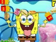 Juego Spongebob Food Skewer
